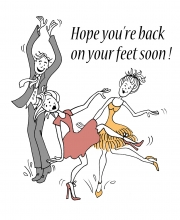 Back on Your Dancing Feet